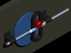 A scotch yoke animation; created and rendered in Autodesk Inventor. Scotch Yoke is a mechanism for converting the linear motion of a slider...