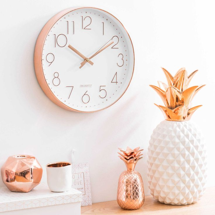 Rose Gold Decor on simple bedroom decor