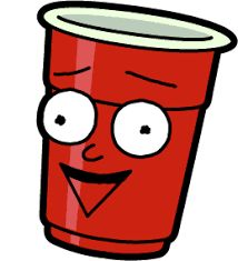 Image result for solo red cup rick and morty