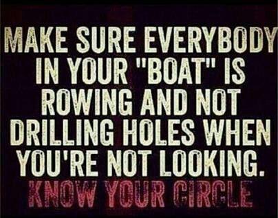 Lifeboat analogy