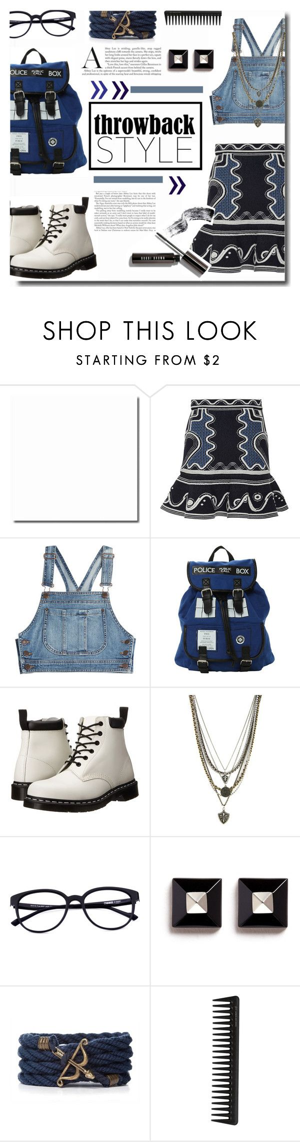"""""""Sassy Girl Style"""" by kts-desilva ❤ liked on Polyvore featuring Peter Pilotto, Moschino, Dr. Martens, Ettika, Givenchy, GHD and throwbackstyle"""