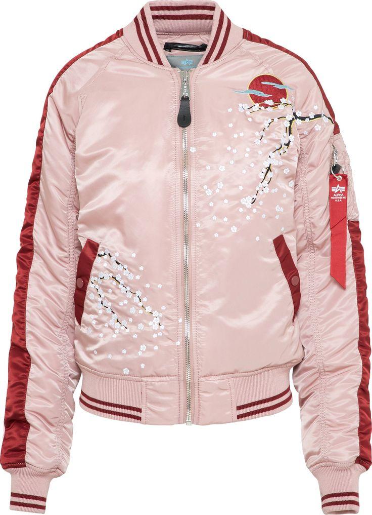 ALPHA INDUSTRIES Bomberjacke 'Souvenier' in pink bei ABOUT YOU bestellen. ✓Versandkostenfrei ✓Zahlung auf Rechnung ✓kostenlose Retoure