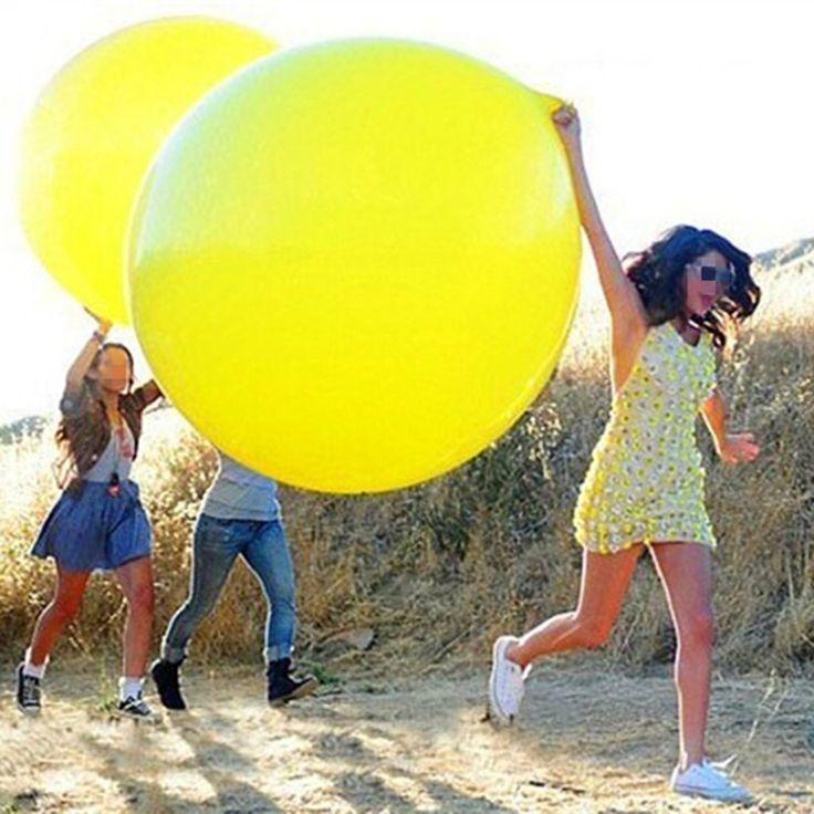 36 дюйма 90 см Круглый Прозрачный Шар Латексные Шары Свадебные Украшения Надувные Гелием Воздушный шар Свадьба День Рождения Воздушные Шары