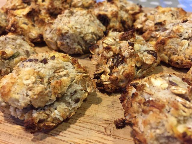 Recettes d'une mère de famille nombreuse: Cookies santé 3 ingrédients : Muesli Coco Banane