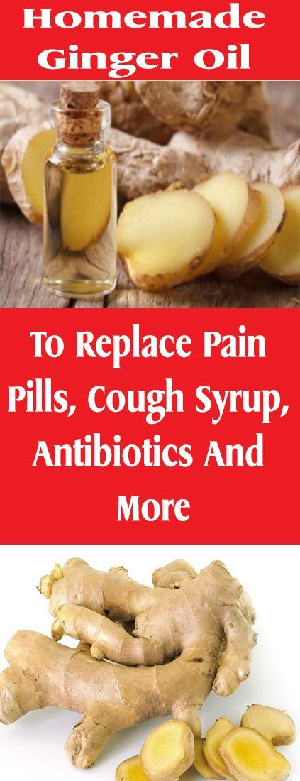 Homemade Ginger Oil To Replace Pain Pills, Cough Syrup, Antibiotics And More – Let's Tallk