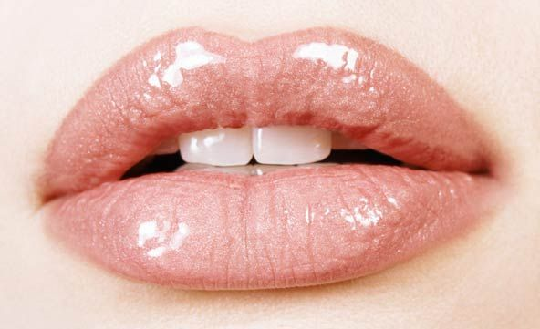 Urban Decay Nude Lip Color!: Lips Gloss, Chapped Lips, Makeup Tips, Pale Pink, Pink Lips, Lips Makeup, Full Lips, Fuller Lips, Lips Colors