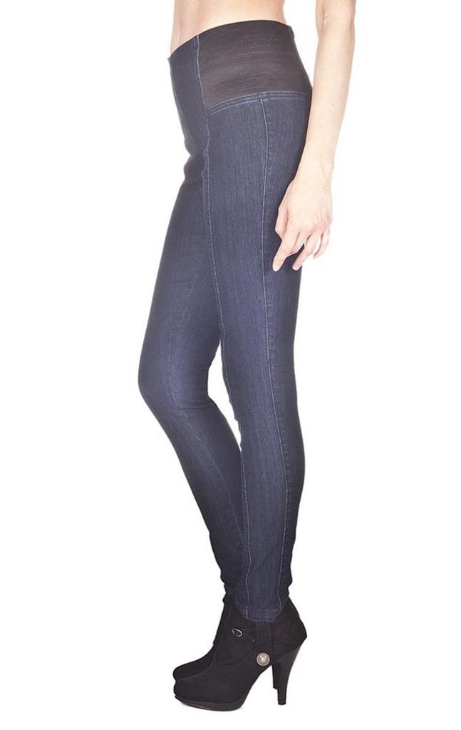 xy Jeans Pull on Jeggings with side elastic detail - Frendz & Co.