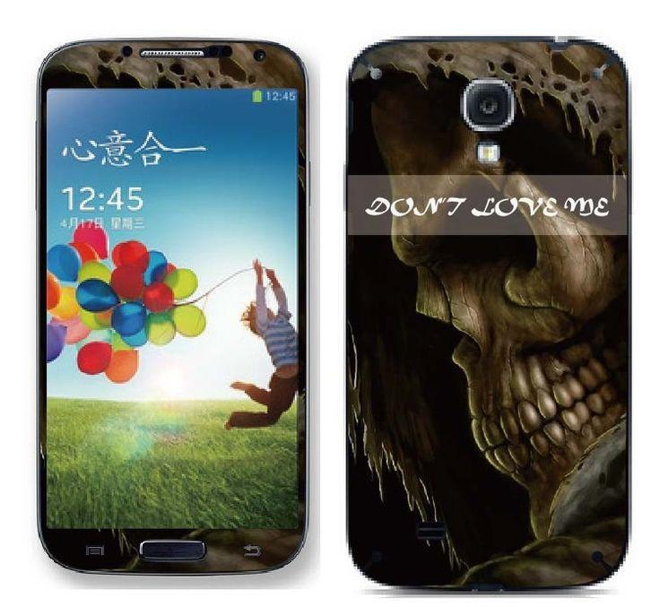 Skull sticker (Samsung s3) - myThiki.gr - Αξεσουάρ Smartphones & Tablets - Grim reaper