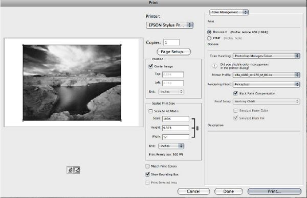 ICC Profiles & printer color calibration settings | http://www.canson-infinity.com