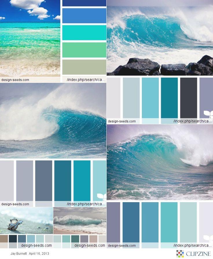 91 Best Coastal Color Inspiration Navy Teal Orange And Grey Images On Pinterest: Best 25+ Ocean Colors Ideas Only On Pinterest