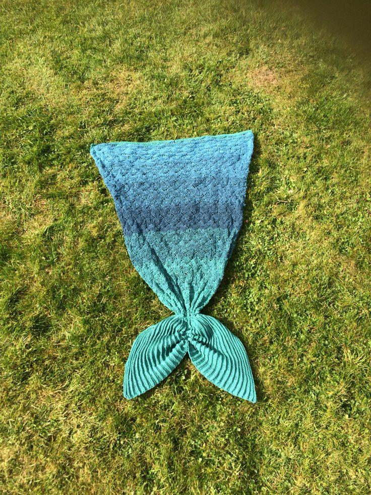 Meine Meerjungfraudecke nach eigener Anleitung,  Diese wird gerade getestet :)
