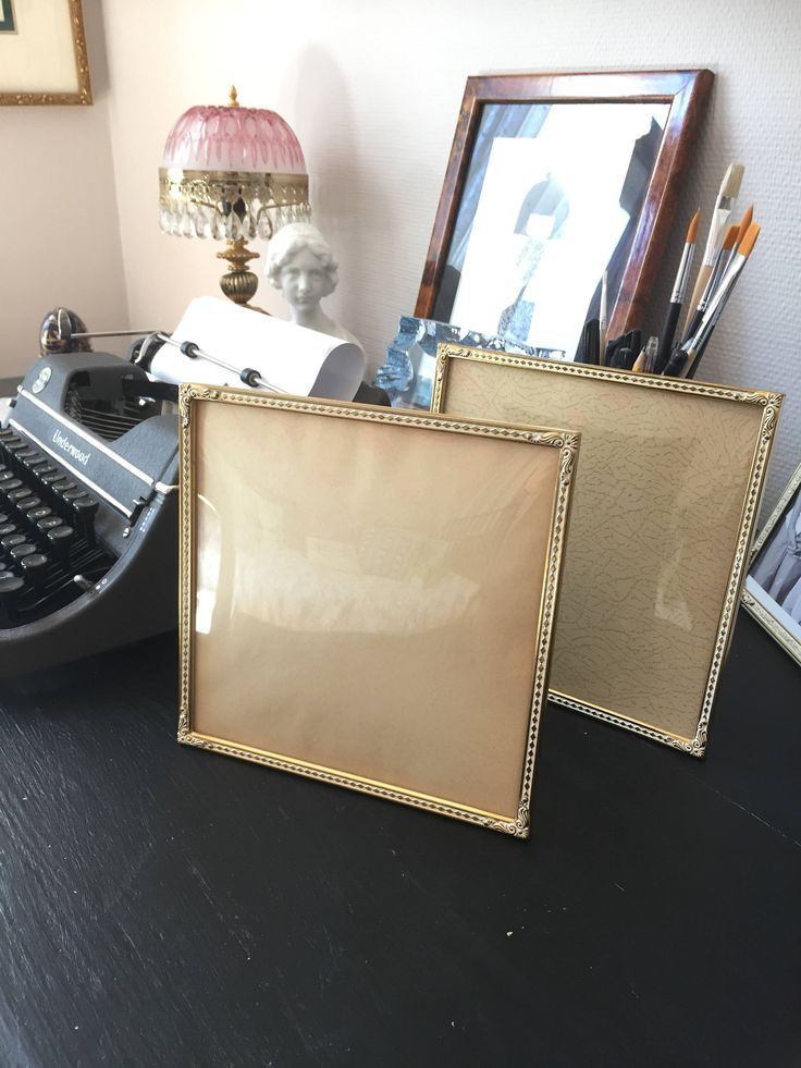 Photo frames/Bronze/gatsby/vintage wedding/bevelled glass by WifinpoofVintage on Etsy