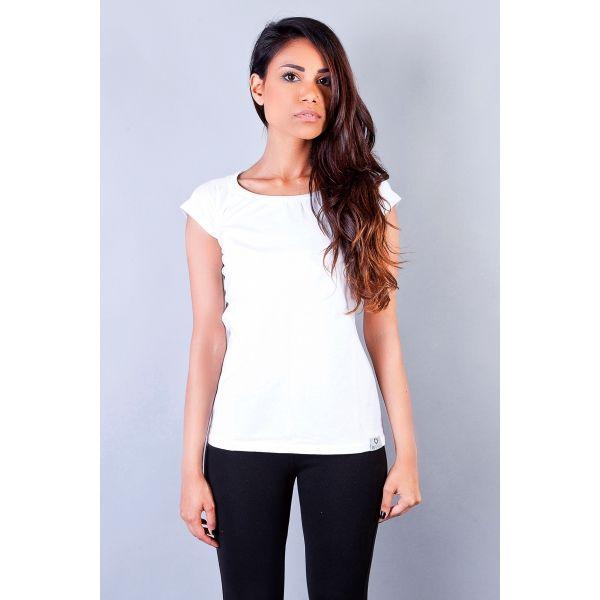Plain White Blouse Womens Breeze Clothing