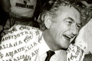 """Any boss who sacks a worker for not turning up today is a bum."" Bob Hawke."