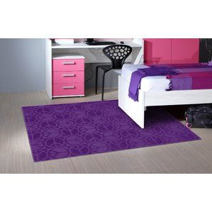 designer rugs do not have to break the bank this x purple area rug with floral flowers pattern made in usa is a machine tufted cut and loop rug in a cu