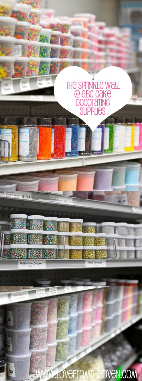 Sprinkle School: All about the different kinds of sprinkles on the market (e.g., sanding sugar, lustre dust, jimmies, nonpareils, etc.). Great resource for bakers!