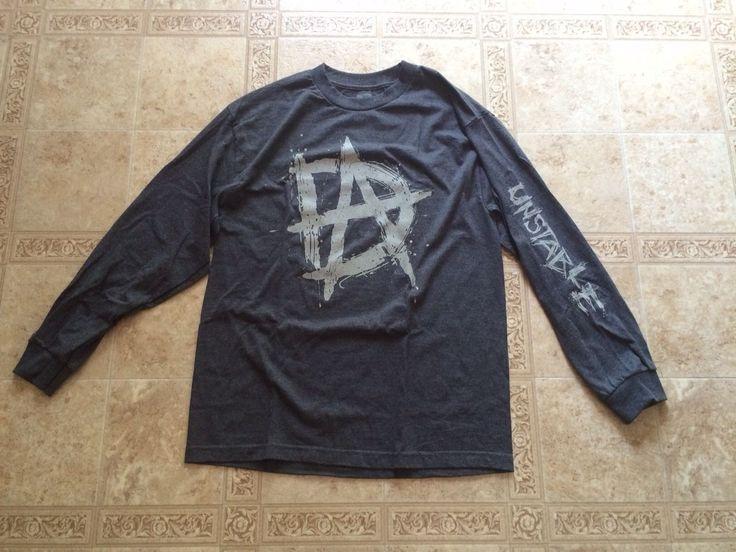"""Dean Ambrose WWE """"UNSTABLE"""" Long Sleeve T-Shirt MEDIUM Brand New - http://bestsellerlist.co.uk/dean-ambrose-wwe-unstable-long-sleeve-t-shirt-medium-brand-new/"""