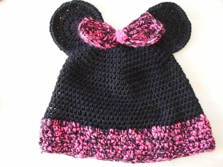 Μίνι Μάους πλεκτό σετάκι - Minnie Mouse Crochet set