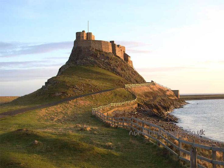 Holy Island, Northumberland County, England. This is Lindisfarne Castle.  Sept. 2010