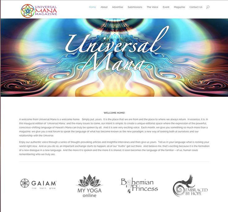 Universal Mana Web Design