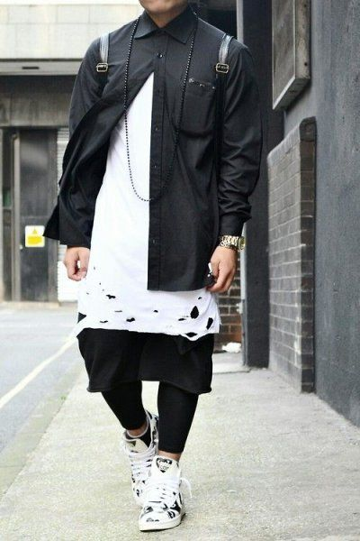 Клубная мужская одежда