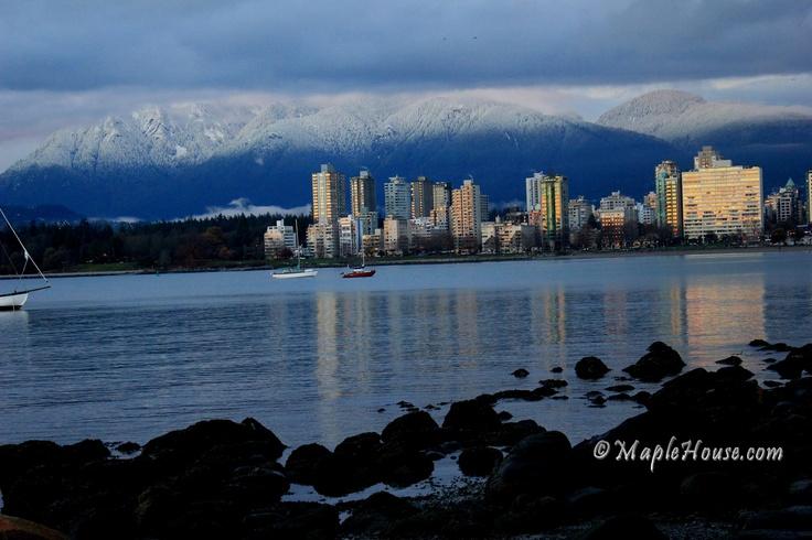 Reflections ... Kits beach, Vancouver