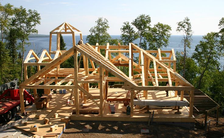 172 Best Timber Frame Images On Pinterest Timber Frames