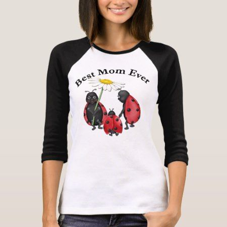Ladybug Stroll - Mom T-Shirt - click/tap to personalize and buy
