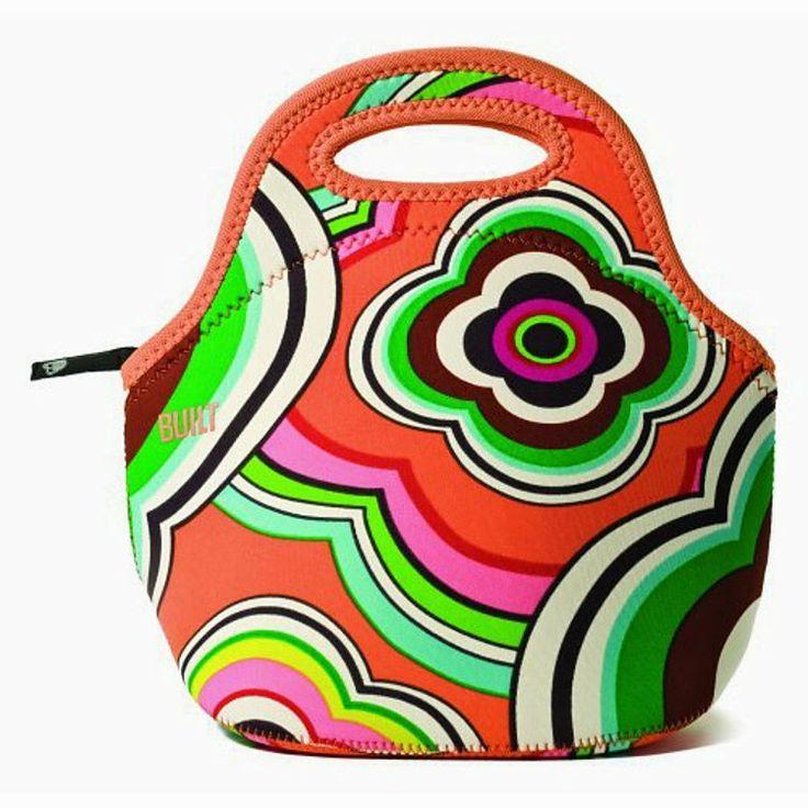 Bolsa Porta Comida Diseño Psicodélico
