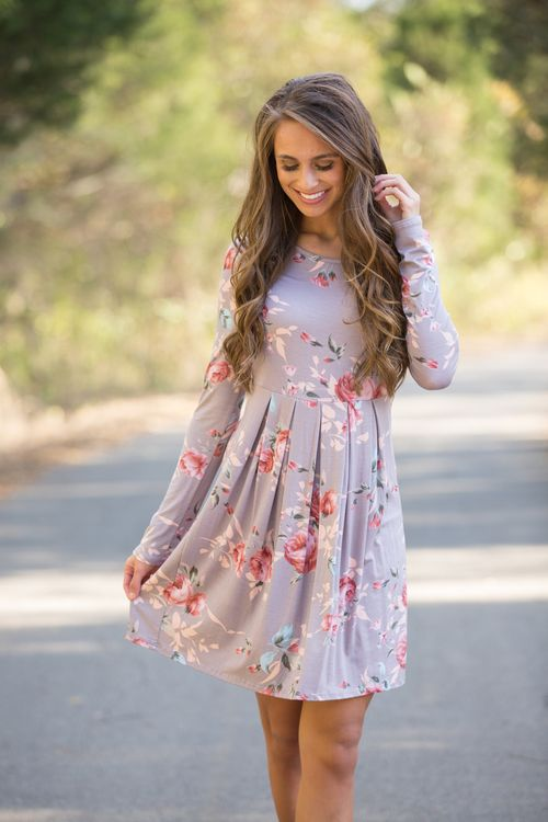 This beautiful floral dress is so easy to love all season long!