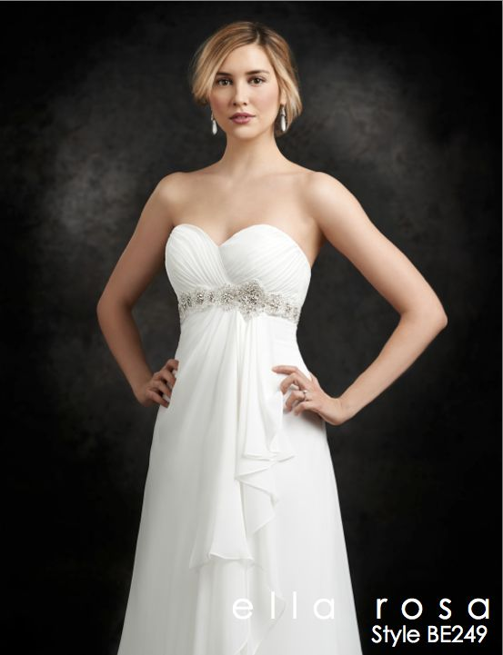 Wedding Gown ~ Ella Rosa BE249