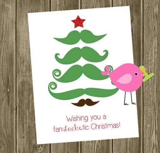 Postales De Navidad Originales Ideas Festivas Pinterest - Tarjeta-de-navidad-original
