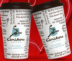 valentines day caribou coffee