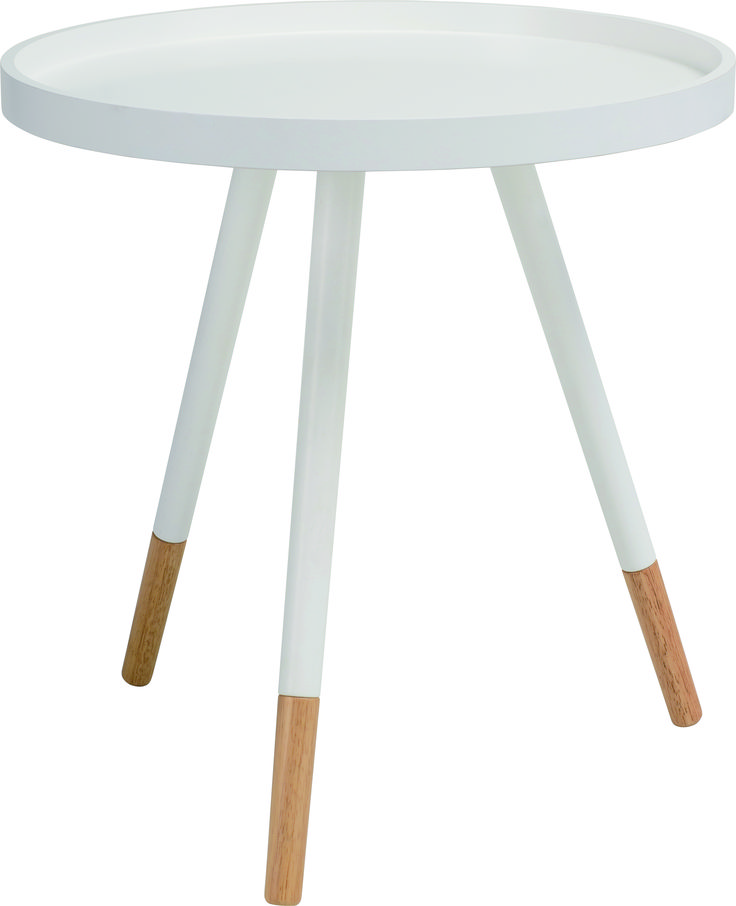 NestNordic Inis Round Tray side table