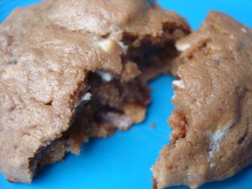 Chocolate Drop S'mores Pop-Tart Cookies. You heard right.