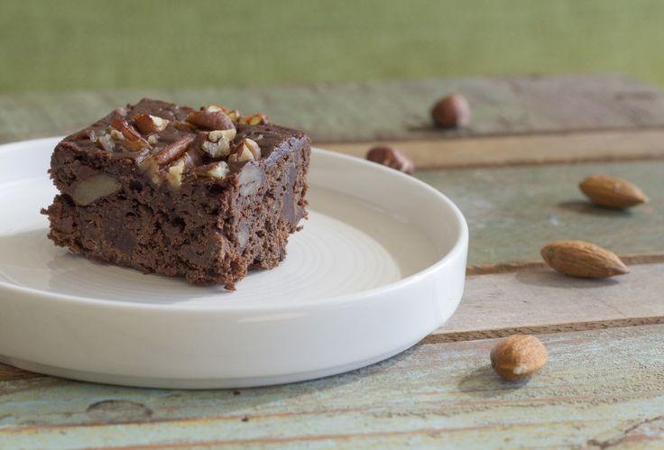 Verantwoorde veganistische brownies
