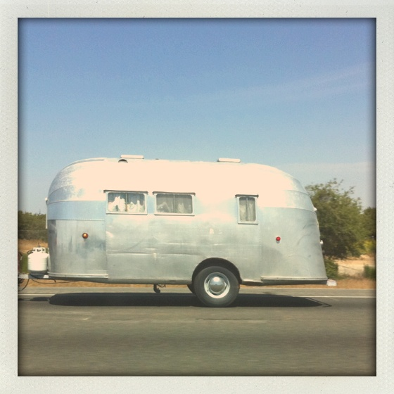 vintage airstream camping anyone lets go on an. Black Bedroom Furniture Sets. Home Design Ideas