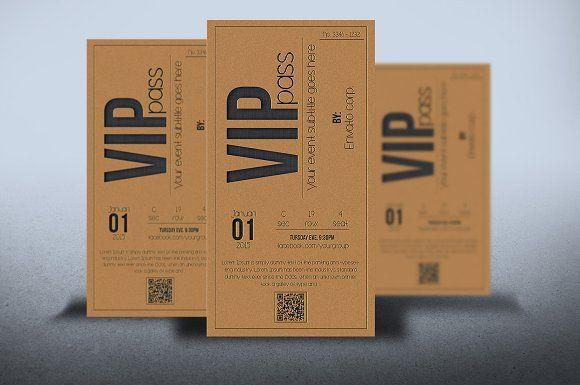 Multipurpose VIP PASS card  @graphicsmag