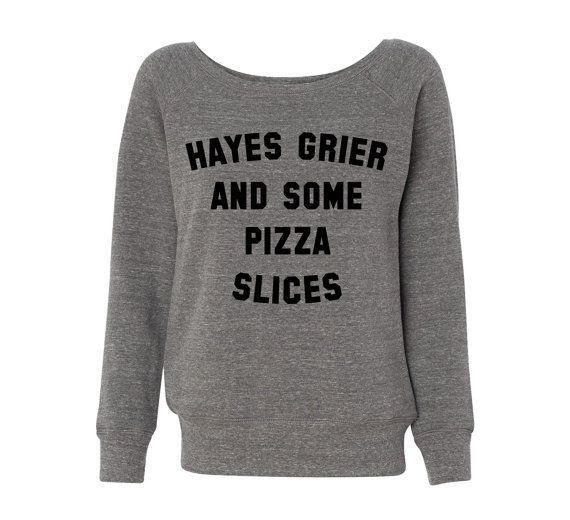 Hey, I found this really awesome Etsy listing at https://www.etsy.com/listing/203584227/hayes-grier-and-some-pizza-slices-grey