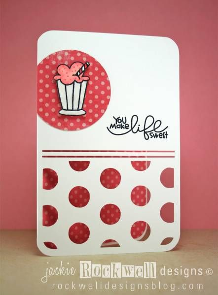 You Make Life Sweet: Backgrounds Paper, Cards Ideas, Beautiful Cards, Sweet Cards, Cards Scrapbook, Handmade Cards, Cupcakes Cards, Cards Inspiration, Cards Cards