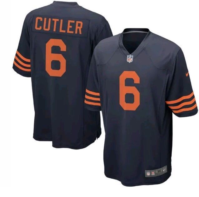 Nike Chicago Bears NFL Jay Cutler Jersey Men's Top  Tshirt Size L NWT #Nike #ChicagoBears