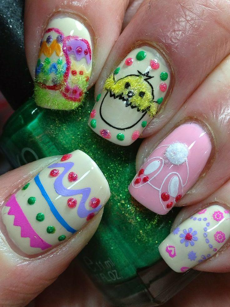 Canadian Nail Fanatic Easter #nail #nails #nailart