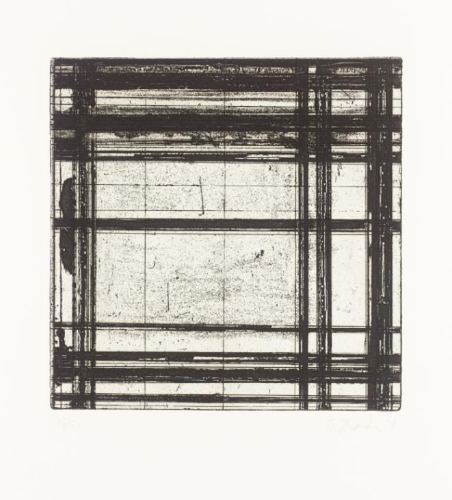 Brice Marden '[title not known]', 1979 © ARS, NY and DACS, London 2015