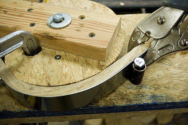 steam bending wood IN THE MICROWAVE!!!