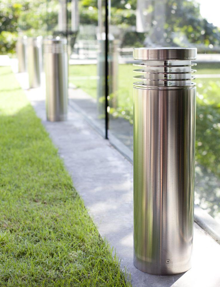 Royal Botania - Neptune. Stainless Steel.  #RoyalBotania #Ellipse #OutdoorLighting #Neptune #StainlessSteel