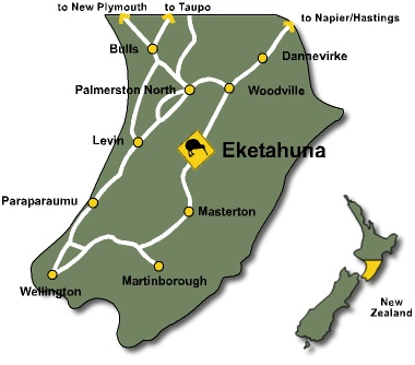 Welcome to Eketahuna Kiwi Country - a small, friendly country town in beautiful natural surroundings