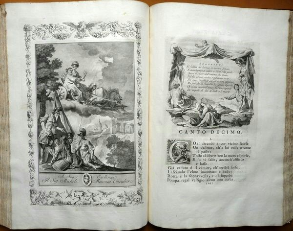 Illustrazioni della Gerusalemme Liberata. 1744