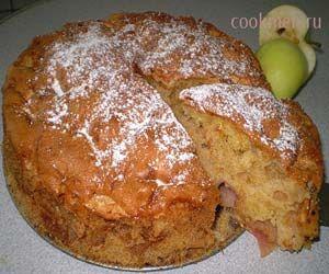 Пирог-шарлотка