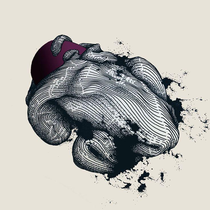 Newborn. #andreyberger #aber #aber_one  fine liner + digital, 2015