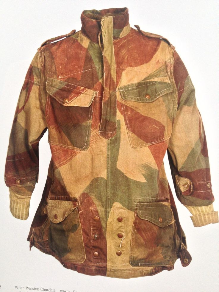 WWII British Denison Smock - The Denison smock was a coverall jacket issued to Special Operations Executive (SOE) agents, the Parachute Regiment, the Glider Pilot Regiment, Air Landing Regiments, Air Observation Post Squadrons, and other Commonwealth airborne units, to wear over their Battle Dress uniform during the Second World War.